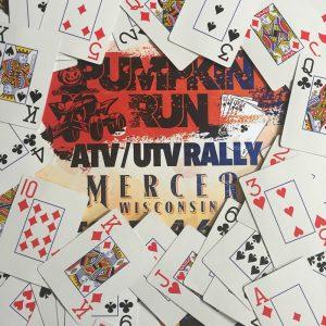 poker run cards